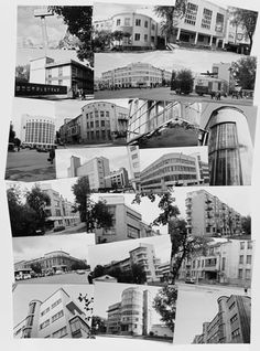 "Photographs from the Catherine Cooke Collection, predominantly of Ekaterinburg (formerly Sverdlovsk). From the ""Soviet Design for Life"" exhibition at the UL."