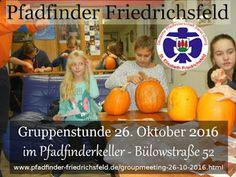 Blog der Pfadfinder Friedrichsfeld: Gruppenstunde vom 27.10.2016