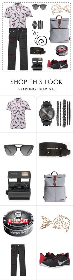 """Без названия #161"" by uleetka ❤ liked on Polyvore featuring Ted Baker, Dolce&Gabbana, Bally, Impossible, 21 Men, Alexander McQueen, NIKE, men's fashion and menswear"