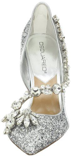 Buy New: $1,025.00 #Shoes: DSQUARED2 Women's Diamonds Glitter Pump