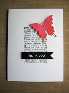 "This is one of the thank you cards I made for camp this year. The photo doesn't do it justice, but I'm practically out the door. The butterfly was a leftover from a previous project. It's inked and then spritzed with HS ColorShine spray. TFL! Challenges: a2z Scrapbooking ""Bright and Beautiful"" a2zscrapbookingblog.com/2017/08/01/a2z-scrapbooking-augus...; and Paper Smooches ""Anything Goes"". Supplies: Butterfly Duet (Paper Smooches) CL 479 D..."