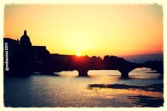 Florence (2011) Florence, Italy, River, Celestial, Sunset, Outdoor, Saints, Sunsets, Outdoors