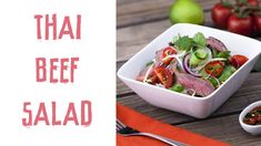 Emily Skye's online fitness program will help you love your selfie. Lose weight with healthy meal plans. Rump Steak Recipes, Healthy Salads, Healthy Recipes, Beef Rump, Emily Skye, Thai Beef Salad, Good Sources Of Protein, Evening Meals, Healthy Options