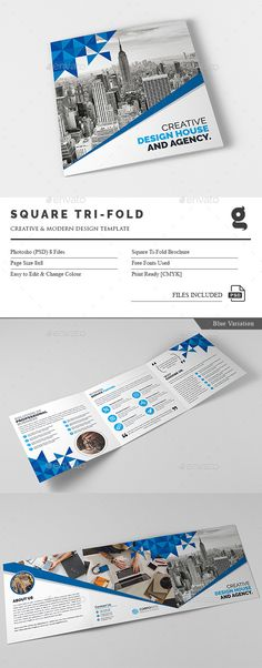 Corporate Tri-Fold Brochure Template PSD. Download here: http://graphicriver.net/item/corporate-trifold-brochure/16083000?ref=ksioks