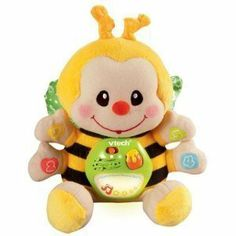VTech - Touch and Learn Musical Bee by V Tech. $29.50. From the Manufacturer                Your little bug's bound for loads of learning fun with the Touch and Learn Musical Bee. This sweet crib toy puts some punch into playtime teaching basic numbers, shapes and colors. Shake the Touch and Learn Musical Bee to hear upbeat melodies and fun sounds. Or soothe baby to sleep with lullabies and nature sounds. Sound sensor automatically activates the Touch and Learn...