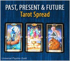 3 Tarot Card Spread Past, Present, Future. #Tarot #TarotCards