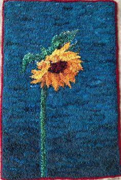 "Sunflower - good example of ""shading"""
