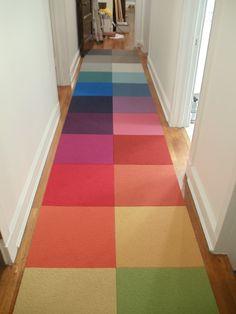Flor carpet tile runner
