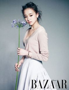 Son Yeon Jae Korean Bazaar magazine