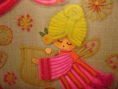 1960s 1970s Hallmark Craft Angels Flower Power by GothicPetunia, $9.50