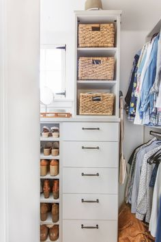 "When we bought the house one of our major concerns was storage – the closets were ""vintage"" and ""adorable"". But not everything original needs to remain in your house if it's not going to work best for your lives or say, ruin your marriage. Most of our friends were like 'YOU CAN'T LIVE LIKE THIS,... Read More …"