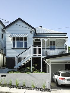 Queenslander House, Weatherboard House, Australian Architecture, Modern Architecture, Brisbane, Melbourne, Classic House, Classic Style, Cottage Renovation