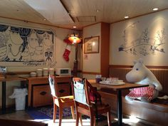 Moomin cafe -- Tokyo Dome City