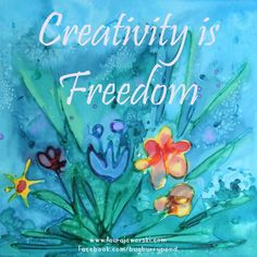 Creativity is Freedom ♥ | www.laurajaworski.com
