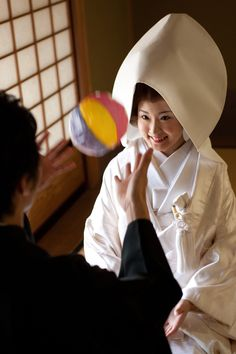 Japanese Bride - in the wedding morning