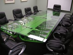 C-119 Aileron Conference Table 3. How AWESOME! MotoArt. Relive the Golden Age of Aviation. Made of airplane wing. www.motoart.com