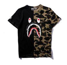 BAPE 1/2 Camo Shirt