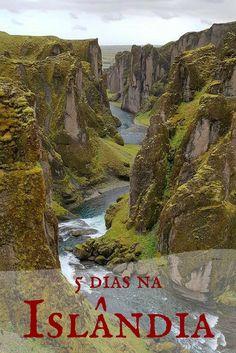Planejamento de 5 dias de viagem na Islândia, ilha do fogo e gelo, com dicas de roteiro, hospedagem, transporte, atrações e custo.
