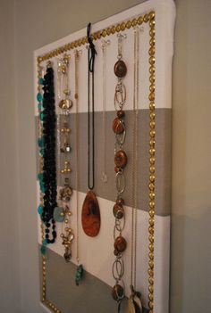 a DIY jewellery board | the sweetest digs | the sweetest digs