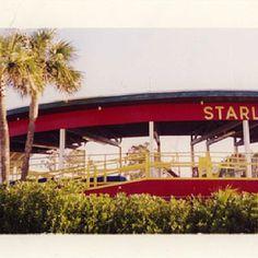 Starliner Roller Coaster. Miracle Strip Amusement Park