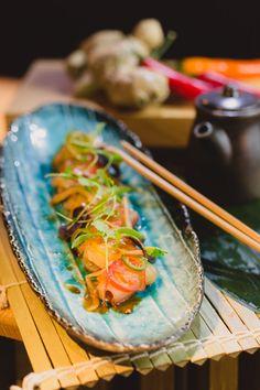Nikkei sashimi.