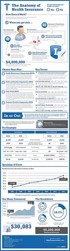 Overview of Health Insurance [infographic]