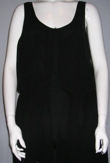 New With Tags Black Blouse Blouse With Sheer Overlay-Size 16 by Gold Flava-Cotton, polyester and lycra~Bring your jeans and heels to a whole new level with this blouse~plus size-$9.70