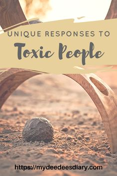 Toxic people take so much from you and drain your energy in the process. Learn how to respond to them and how to handle encounters with the toxic people in your life. #advice #blog #toxic #people #blogitwithdee