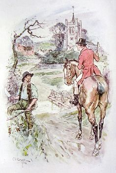 Thornton Lacey, Edmund Bertram's future parsonage, Mansfield Park illustration by C. E. Brock