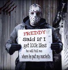 Made A Jason Meme Friday The 13th Horror Scary Movie Memes Horror Movies