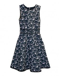 Cynthia Rowley - Sleeveless Bonded Dress with Full Skirt | Dresses by Cynthia Rowley