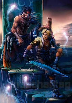 """""""Tidus, I am your father--search your grid spheres, you know it to be true."""""""