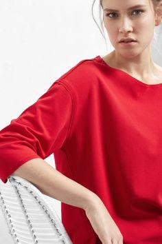 Maglietta spacchi laterali - Magliette violeta | Violeta by MANGO Italia