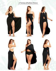 156a818c43 Plus Size Beach Wrap Cover Up – Curvy Fashion Queen Beach Dresses
