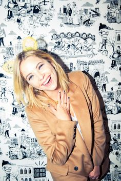 BRB, just having a laugh with our new BFF Ashley Benson. http://www.thecoveteur.com/ashley-benson/