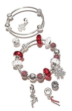Pandora Sterling Silver Bracelet....I really want to start one of these!!