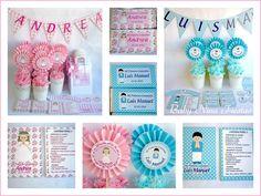 Baby Nina Fiestas: Kit de comunión para Andrea y Luis Manuel
