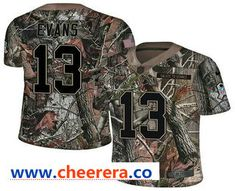 4eece7f00 Men s Tampa Bay Buccaneers  13 Mike Evans Camo Stitched NFL Rush Realtree  Nike Limited Jersey