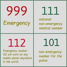 33 Emergency Numbers Worldwide Ideas Emergency 999 Emergency Emergency Service