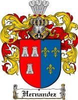 $8.99 Hernandez Family Crest / Hernandez Coat of Arms - Download Family Crests