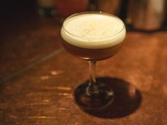 Catch the Gingerbread Man in liquid form in this delightful cocktail. Jim Meehan's molasses-happy drinkable rendition has sugar and spice and a blended rum that's seven-islands' nice.