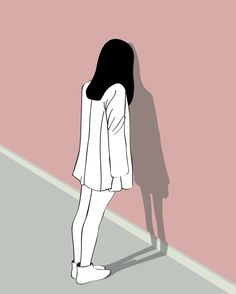 Who does that when they are sad minimalist drawing people di Trendy Wallpaper, Girl Wallpaper, Cartoon Wallpaper, Cute Wallpapers, Aesthetic Anime, Aesthetic Art, Cover Wattpad, Minimalist Drawing, Sad Art