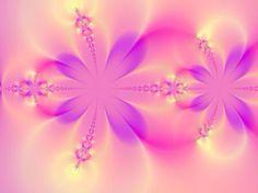 Pink beautiful fractal
