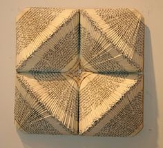 ramon lascano – sculptures from discarded books