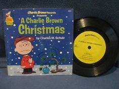 Rare Vintage A Charlie Brown Christmas. Charles by sweetleafvinyl