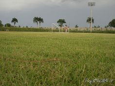 Football Soccer Stadium@ Bayaguana, Monte Plata, Dominican Republic Footbal Equipment And Football Training Aids football-fans Soccer Stadium, Dominican Republic, Football Soccer, Training, Country, Rural Area, Work Outs, Excercise, Country Music
