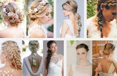 Wedding Hair styles for women #wedding #hairstyles