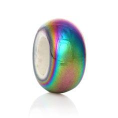 Rainbow Ceramic Dread Bead - Dreadlock Bead - Dread Accessories - Hair Accessories via Zaahn Dreads. Click on the image to see more!