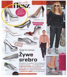 FLESZ MAGAZINE  www.sequinshoes.pl