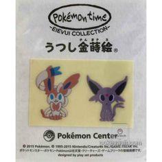 Pokemon Center 2015 Pokemon Time Campaign #8 Sylveon Espeon High Quality Set of 2 Stickers